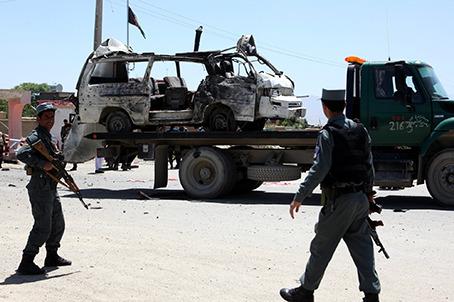 喀布尔发生自杀式汽车弹袭击